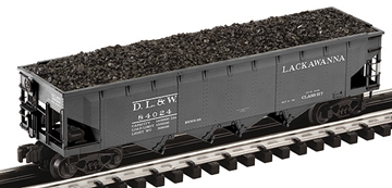 Picture of DL&W Lackawanna Die-Cast 4-Bay Coal Hopper