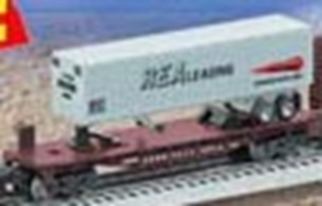 Picture of 26098 - Pennsylvania Flatcar w/Trailer
