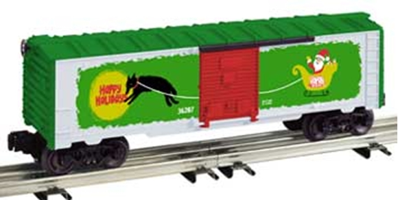 Picture of 36207 - Vapor Records Christmas Boxcar
