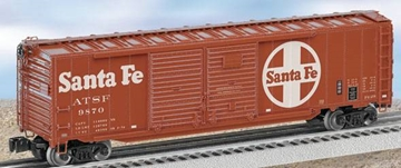 Picture of Santa Fe Double-Door Boxcar w/End Doors