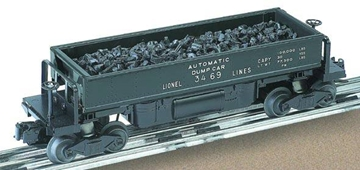 Picture of Lionel Lines #3469 Coal Dump Car -PWC