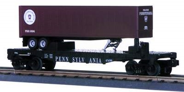 Picture of 30-7626 - Pennsylvania Flatcar w/Trailer
