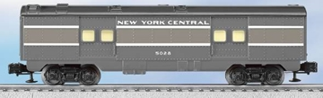 Picture of New York Central Baggage Passenger Car