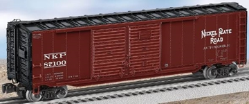Picture of Nickel Plate Road Double-Door Boxcar w/End Doors