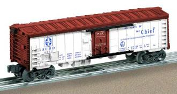 Picture of Santa Fe #6672 Reefer Car - PWC