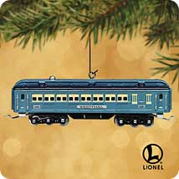 Picture of Hallmark Blue Comet Passenger Car Ornament