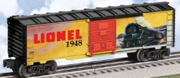 Picture of Lionel 1948 Catalog Art Boxcar