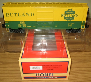 Picture of TCA Rutland PS-1 Scale Boxcar