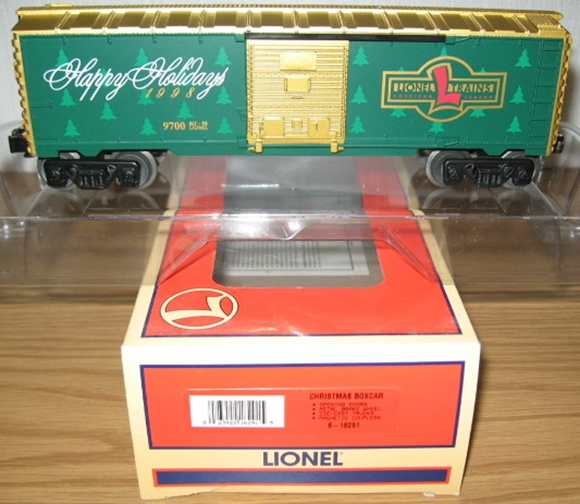 Picture of 16291 - Christmas 1998 Boxcar