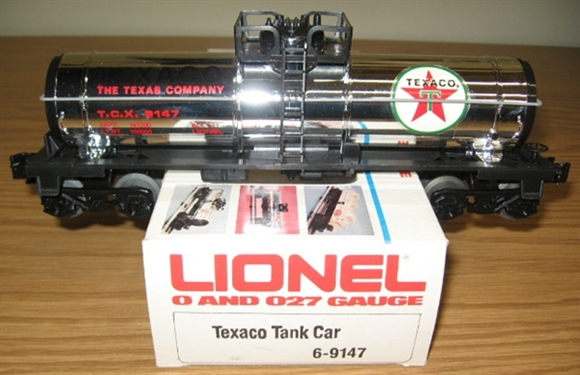 Picture of Texaco (chrome) Tank Car