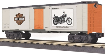 Picture of Harley Davidson Window Boxcar w/'01 Dyna Wide Glide