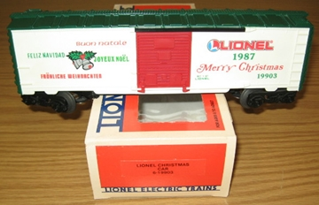 Picture of 19903 - 1987 Christmas Boxcar