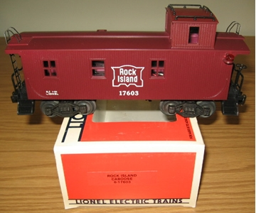 Picture of 17603 - Rock Island Woodside Caboose