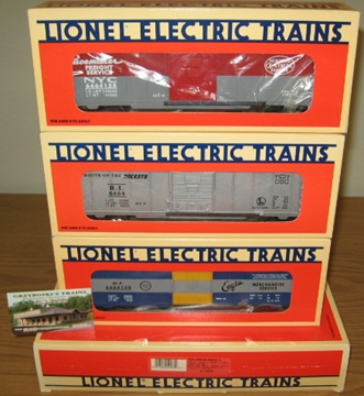 Picture of 6464 Series III Boxcar 3-pk.