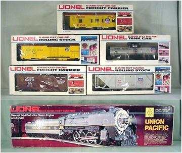 Picture of Union Pacific Berkshire FARR #2 5-Car Freight Set