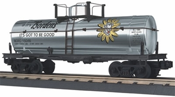 Picture of Bordon's Chrome Tank Car