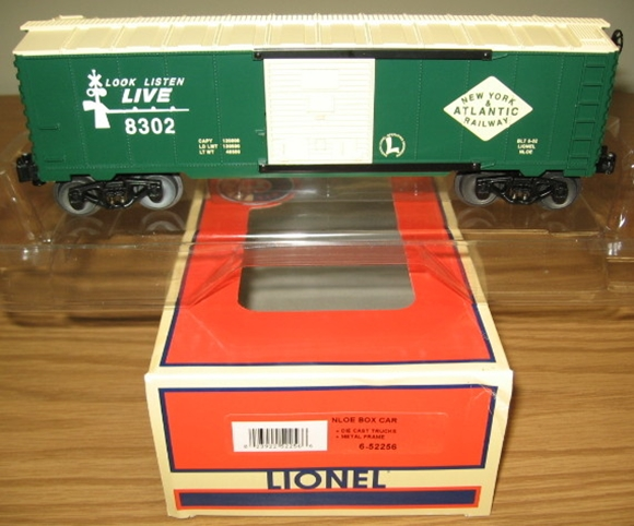 Picture of 52256 - NLOE New York & Atlantic RR Boxcar
