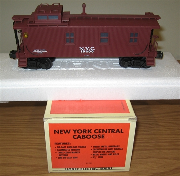 Picture of 51701 - New York Central Semi-Scale Caboose