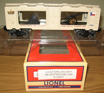 Picture of 72511 - LCCA Remeber the Alamo Mint Car