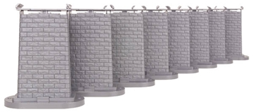 Picture of 8-piece Elevated Trestle Set for Fastrack & Tubular