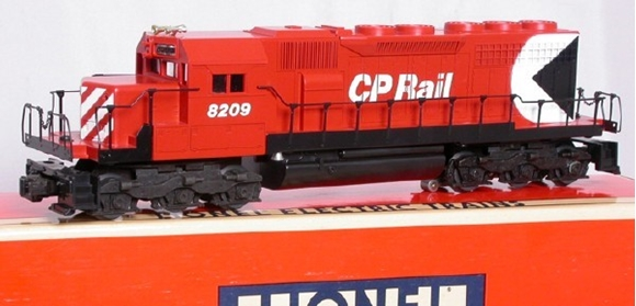 Picture of C.P. Rail SD-40 Non-Powered Diesel