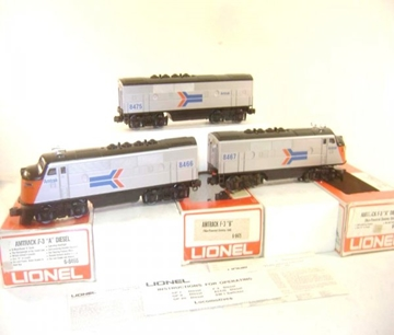 Picture of Amtrak F-3 'ABA' Diesels