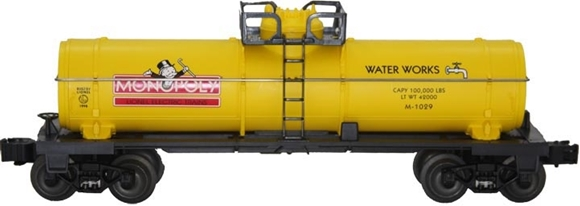 Picture of Monopoly 'Water Works' Tank Car