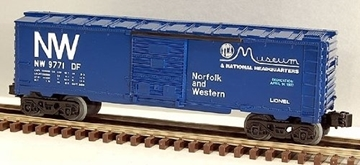 Picture of TCA Norfolk & Western Boxcar (overstamped)