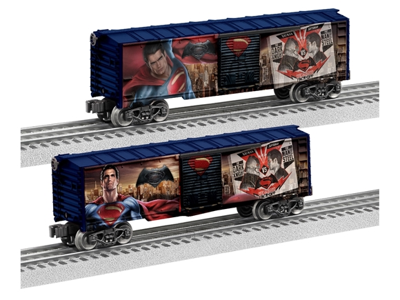 Picture of Man of Steel Boxcar (Batman vs Superman)
