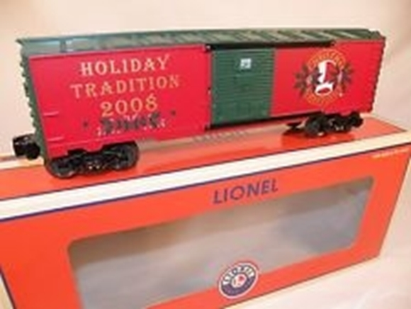 Picture of Lionel Employees 2008 Christmas Boxcar