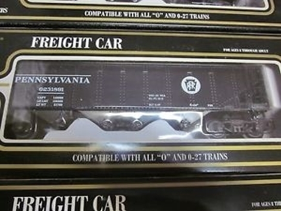 Picture of Pennsylvania Die-Cast 4-Bay Hopper Car