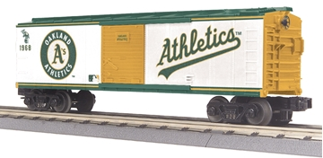 Picture of MLB Oakland Athletics Baseball Boxcar