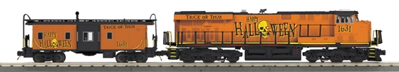 Picture of Halloween Imperial ES44AC & Matching Caboose Set