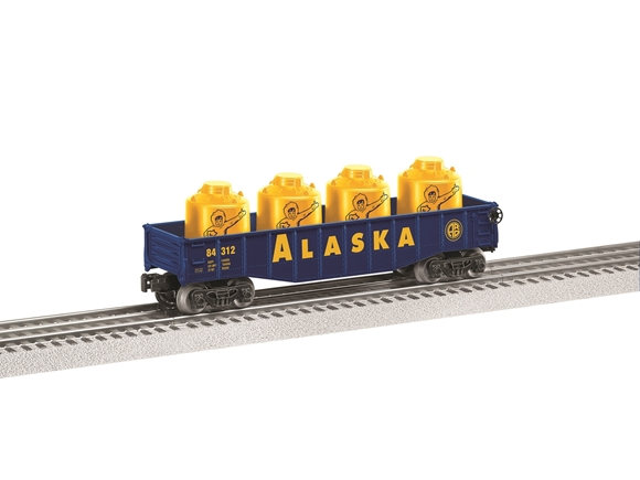 Picture of Alaska Railroad Gondola car w/cannisters