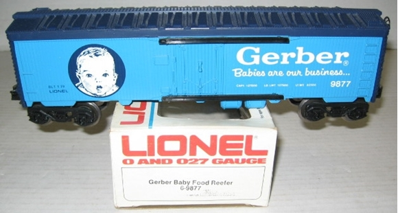 Picture of Gerber Baby Food Reefer Car *