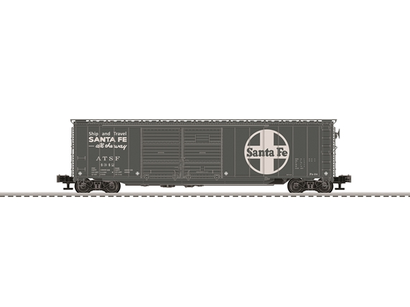 Picture of ATSF Express 50' Double-Door Boxcar