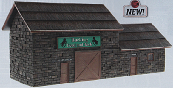 Picture of Bucking Feed & Tack Building