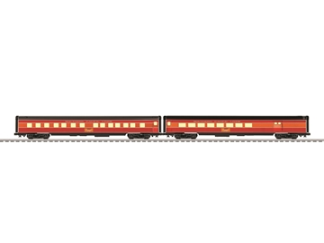 "Picture of Southern Pacific 21"" Passenger Car 2-pack"