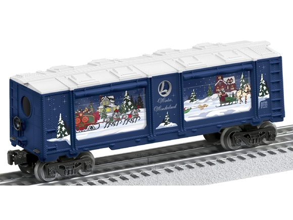 Picture of Winter Wonderland Christmas Aquarium Car