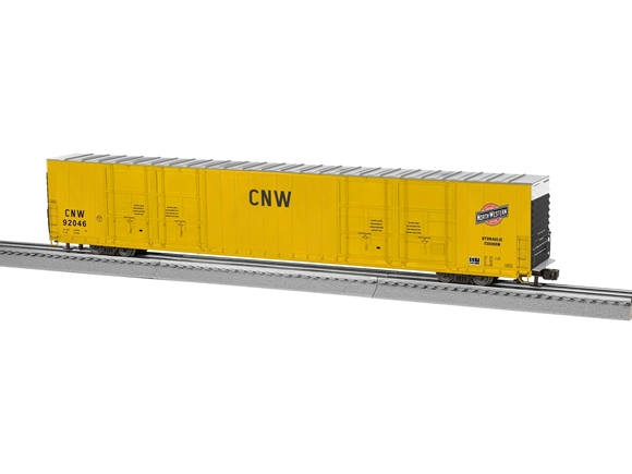 Picture of C&NW 86' Hi-Cube 8-Door Boxcar