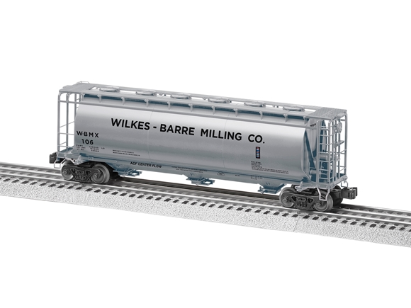Picture of Wilkes-Barre Milling Cylindrical Hopper Car #106