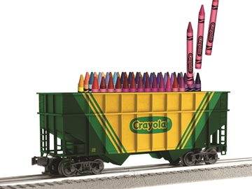 Picture of Crayola 2-Bay Hopper w/Crayola Crayons
