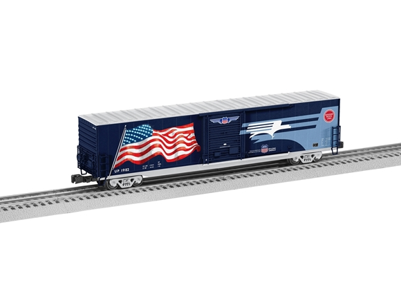 Picture of Missouri Pacific Heritage 60' LED Flag Boxcar