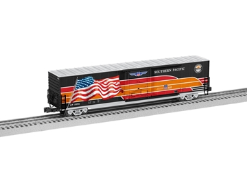 Picture of Southern Pacific Heritage 60' LED Flag Boxcar