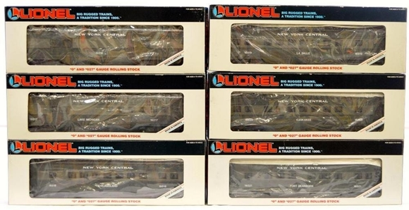 "Picture of 16016 - to 21 New York Central 11"" 6-Car Set"