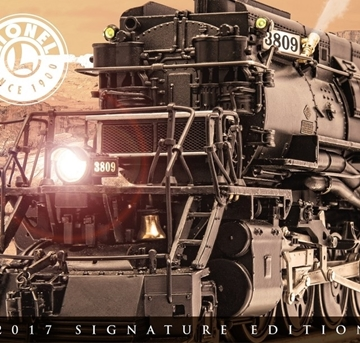 Picture of 2017 Lionel Signature Edition Catalog
