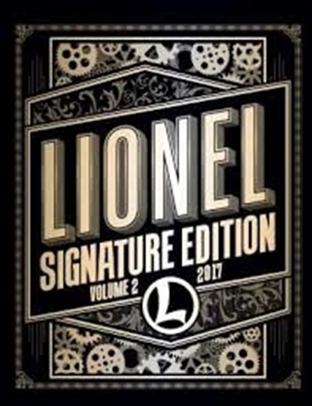 Picture of 2017 Lionel Volume II Catalog