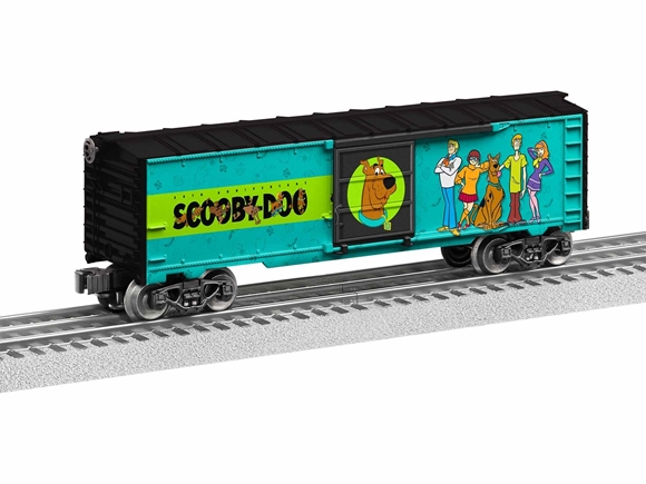 Picture of Happy Birthday Scoby Doo Boxcar with Sounds