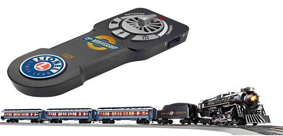 Picture of Polar Express 15th Anniversary LionChief Passenger Set
