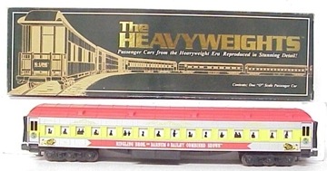 "Picture of K-line Ringling Bros. Circus 18"" Heavyweight Passenger Coach Car"
